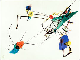 Wassily Kandinsky - Simple Watercolour