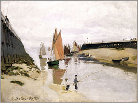 Claude Monet - Entrance to the Port of Trouville