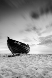 Kristian Goretzki - Lonely Boat - Black/White | Rügen | Germany