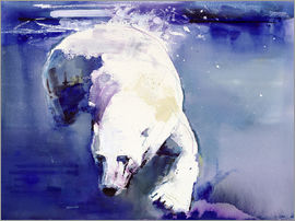 Mark Adlington - Polar bear underwater