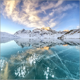 Roberto Moiola - Ice bubbles and frozen surface