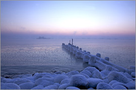 Uwe Steffens - Icy morning over the Bay of Lübeck