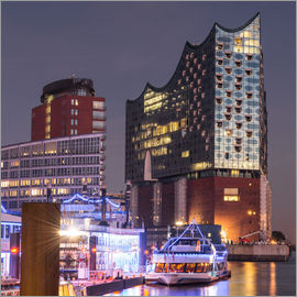 Markus Ulrich - Elbphilharmonie and Marina in Hamburg