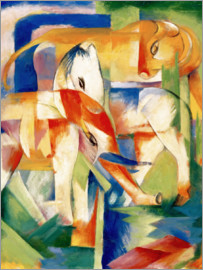 Franz Marc - Elephant, horse, cattle