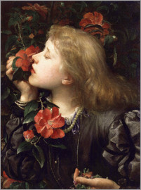 George Frederic Watts - Dame (Alice) Ellen Terry ('Choosing') by George Frederic Watts