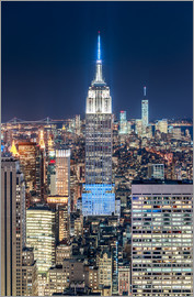 newfrontiers photography - Empire State Building from Top Of The Rock