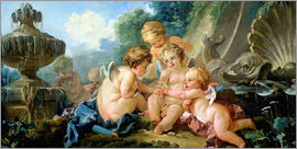 François Boucher - Angels in the Game
