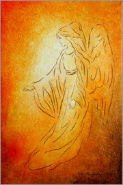 Marita Zacharias - Angel of Healing - Angel Art