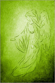 Marita Zacharias - Angel of Healing - Abstract Angel Picture