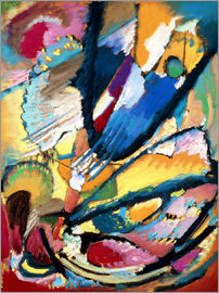 Wassily Kandinsky - Angel of Judgment