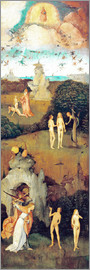 Hieronymus Bosch - Emergence of evil and the loss of paradise