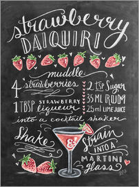 Lily & Val - Strawberry Daiquiri Recipe