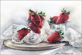 Maria Mishkareva - Strawberries and lace