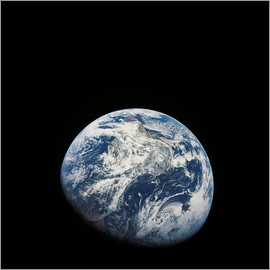 Stocktrek Images - Earth from the viewpoint of Apollo 8