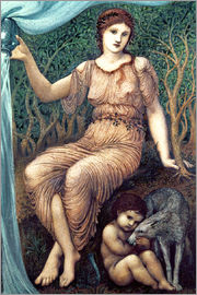 Edward Burne-Jones - Earth Mother