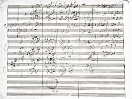 Ludwig van Beethoven - Score for the 3rd Movement of the 5th Symphony