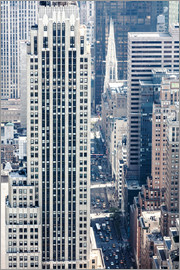 Matteo Colombo - Elevated view of 5th avenue, Manhattan, New York city, USA