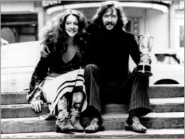 Eric Clapton and Alice Ormsby-Gore