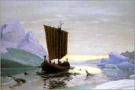 Jens Erik Carl Rasmussen - Erik the Red discovered Greenland