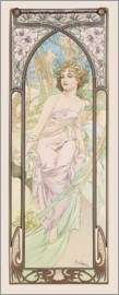 Alfons Mucha - Eveil du matin - The Morning