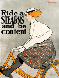 Edward Penfield - Ride a Stearns and be content