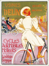 Georges Gaudy - Bikes and automobile mechanic, Belgium