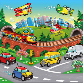 Kidz Collection - Vehicles in the city