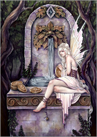 Selina Fenech - fairy wishing well