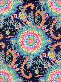Micklyn Le Feuvre - Color Celebration Mandala