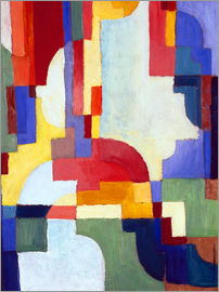 August Macke - Coloured Forms I