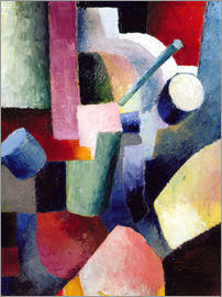 August Macke - Coloured Composition of Forms