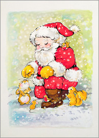 Diane Matthes - Father Christmas with Animals