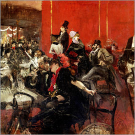 Giovanni Boldini - Celebration at the Moulin Rouge