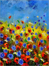 Pol Ledent - poppies