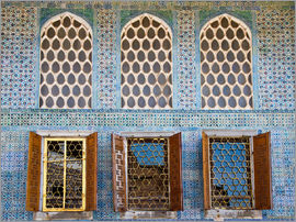 Circumnavigation - Islamic windows of the Topkapi palace