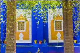 Matthew Williams-Ellis - Windows in the Majorelle Gardens