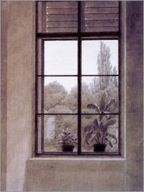 Caspar David Friedrich - Window w.view o.park