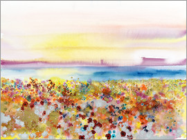 Tara Thelen - Field Of Joy - Abstract Landscape