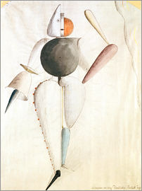 Oskar Schlemmer - Design for the Triadic Ballet
