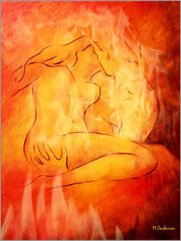 Marita Zacharias - Blazing love - erotic lovers