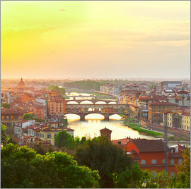 Florence with Ponte Vecchio