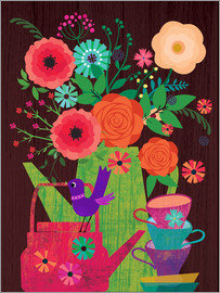 Elisandra Sevenstar - Flowers in Coffeepot