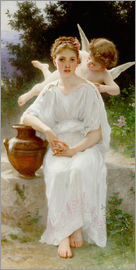 William Adolphe Bouguereau - Whisperings of Love
