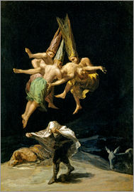 Francisco José de Goya - Witches' Flight