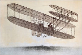 Plane of the Wright brothers