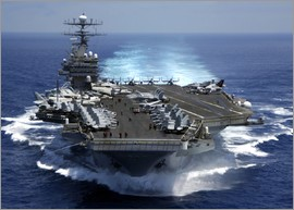 Aircraft carrier USS CARL VINSON in the Indian Ocean