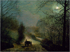 John Atkinson Grimshaw - Forge Valley