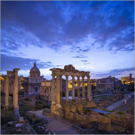 Jan Christopher Becke - Forum Romanum in Rome, Italy