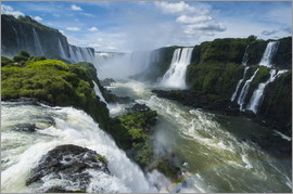 Michael Runkel - Foz de Iguazu (Iguacu Falls), the largest waterfalls in the world, Iguacu National Park, UNESCO Worl