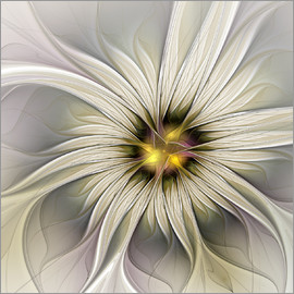 gabiw Art - Fractal Flower in precious look
